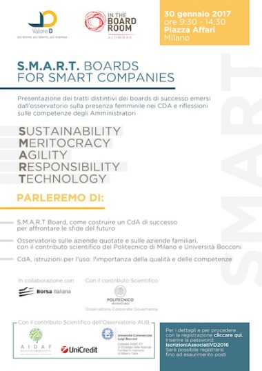 S.M.A.R.T. Boards for Smart Companies 2017