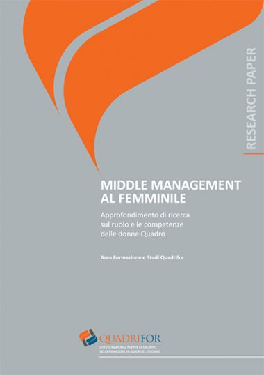 Middle management al femminile