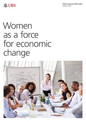 Women as a force for economic change