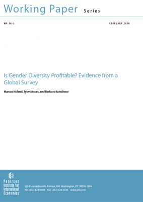 Is gender diversity profitable? Evidence from a Global Survey