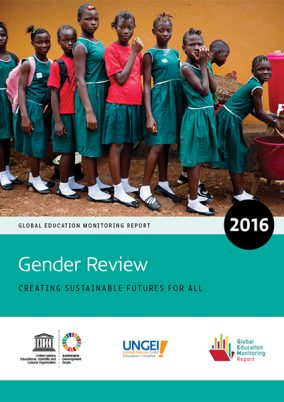 Global education monitoring report 2016: gender review
