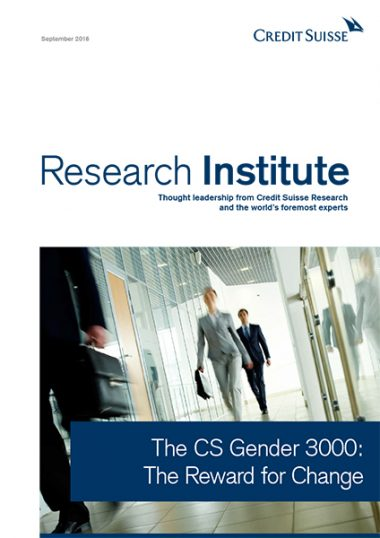 The CS Gender 3000: The Reward for Change