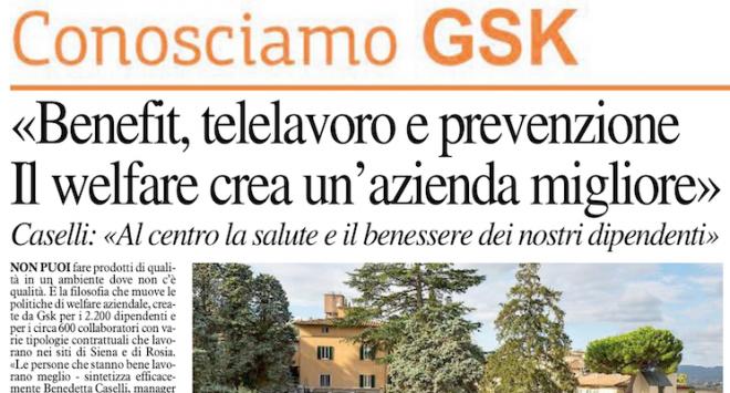 GSK: l'azienda dei dipendenti felici