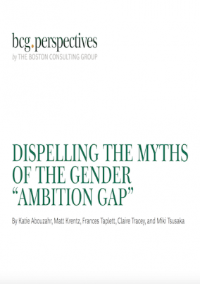 "Dispelling the myths of the gender ""ambition gap"""