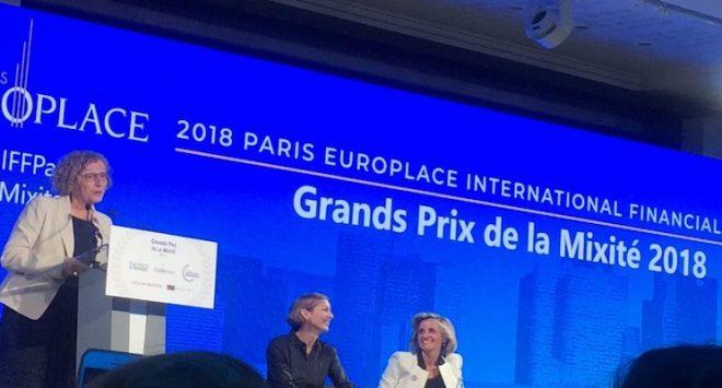 Va a UBI Banca il primo European Grand Prix de la Mixité 2018