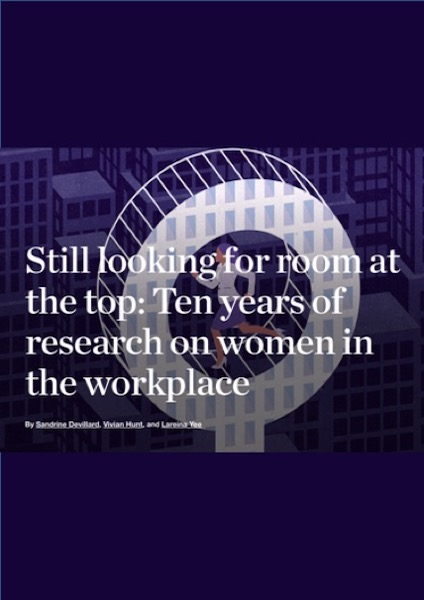 Still looking for room at the top: Ten years of research on women in the workplace