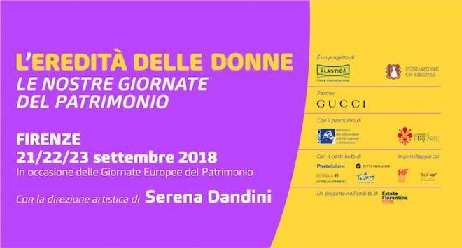 L'eredità delle donne a Firenze per celebrare il patrimonio femminile