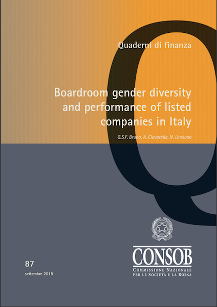 Gender diversity e performance delle società quotate in Italia