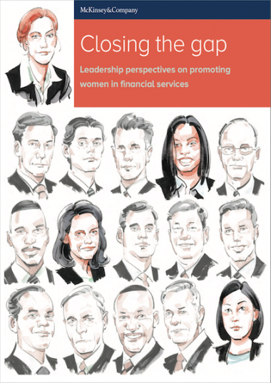 Closing the gap: leadership perspectives on promoting women in financial services