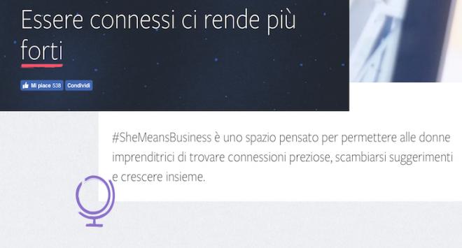 La scommessa di Facebook per sostenere le donne parte dalla Sicilia
