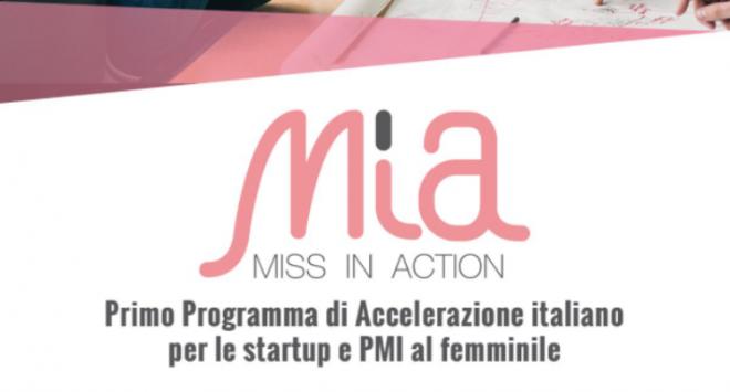 Nasce MIA-Miss In Action: sostegno a startup e PMI femminili
