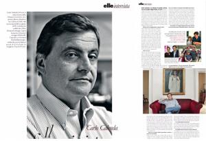 Calenda intervista Elle