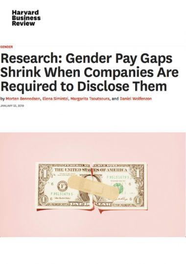 Impatto della trasparenza salariale obbligatoria