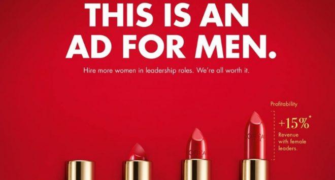 La campagna di L'Oréal: la leadership femminile è essenziale per l'azienda