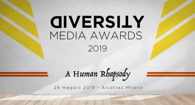 Diversity Media Awards 2019: i premi per l'inclusione e la diversità nei media