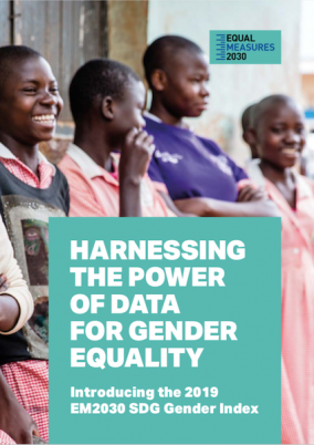 Harnessing the power of data for gender equality