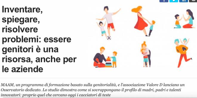 Fare figli rende innovatori: essere genitori è una risorsa, anche per le aziende