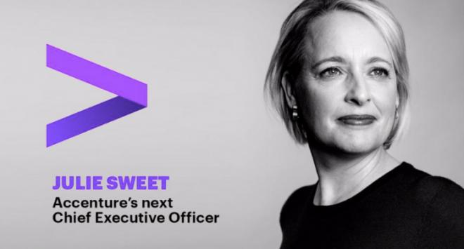 Julie Sweet è la nuova CEO di Accenture