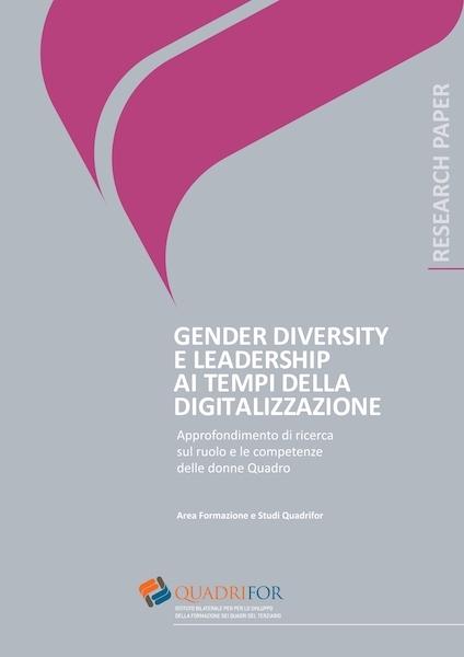 Gender diversity e leadership ai tempi della digitalizzazione