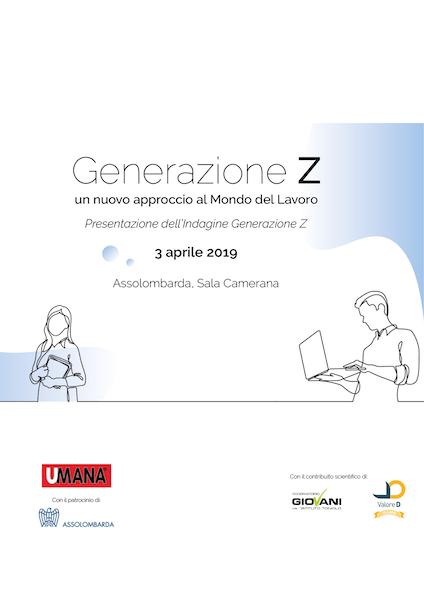 Generazione Z. Un nuovo approccio al mondo del lavoro