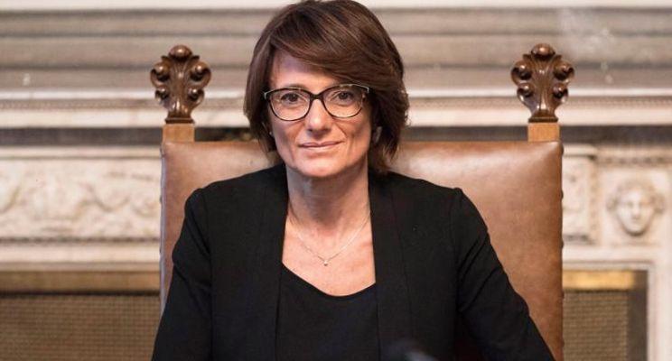 Ministra per le Pari Opportunità e la Famiglia Elena Bonetti