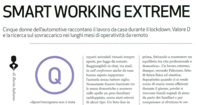 Smart working Extreme