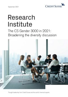 The Credit Suisse Gender 3000 in 2021: Broadening the diversity discussion